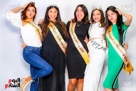 ملكة جمال مصر ووصيفاتها