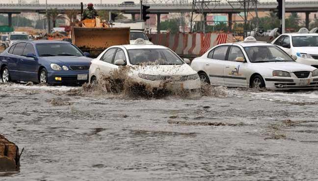 فيضانات قطر