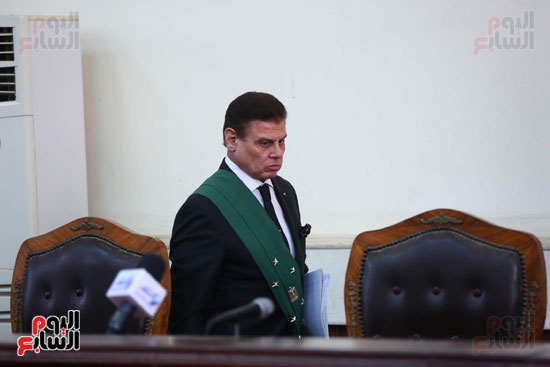 محكمه - اقتحام السجون - حبيب العادلى (5)