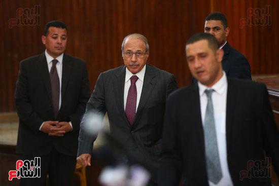 محكمه - اقتحام السجون - حبيب العادلى (12)