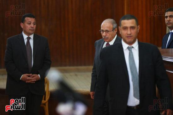 محكمه - اقتحام السجون - حبيب العادلى (10)