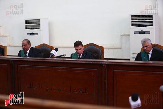 محكمه - اقتحام السجون - حبيب العادلى (7)