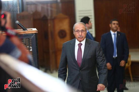 محكمه - اقتحام السجون - حبيب العادلى (19)