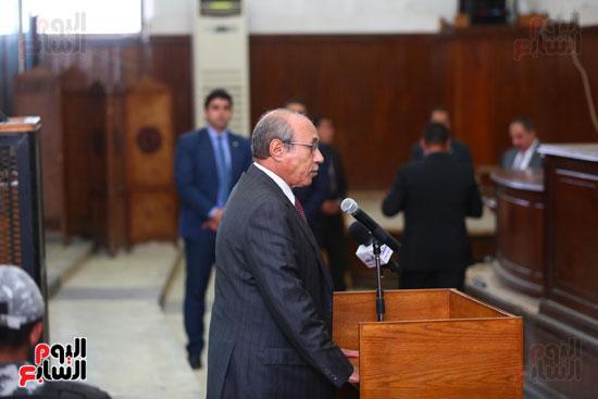 محكمه - اقتحام السجون - حبيب العادلى (24)