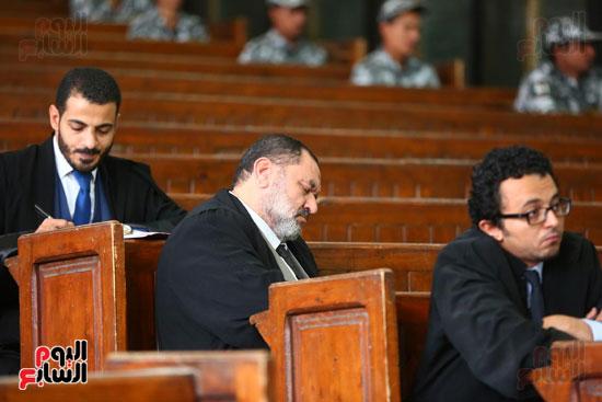 محكمه - اقتحام السجون - حبيب العادلى (26)