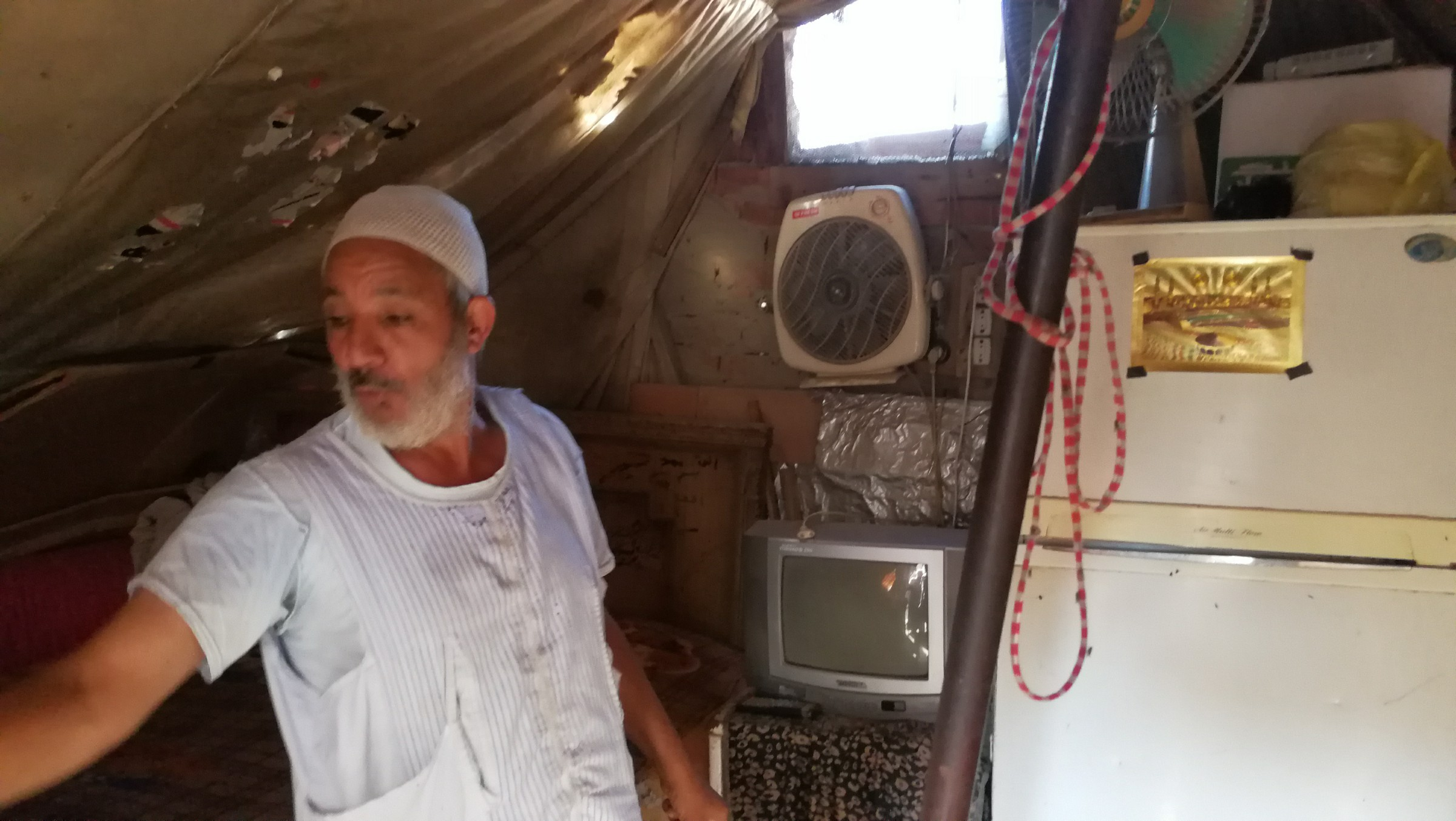 سكان العشش بالمحلة (15)