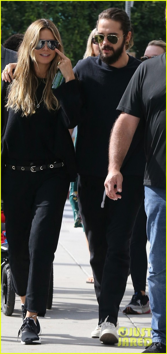 هيدي كلوم وصديقها توم كوليتز (4)