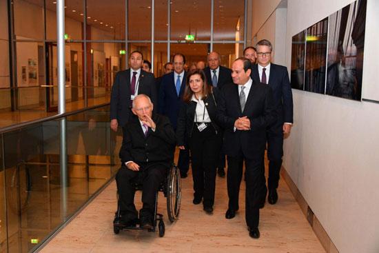الرئيس عبد الفتاح السيسي ورئيس البرلمان الألماني (2)