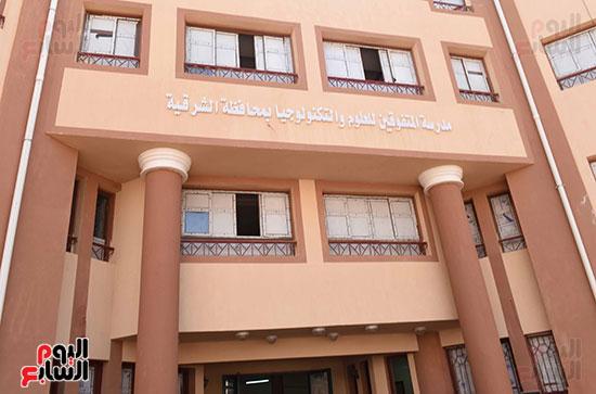 مصطفى مدبولى يتفقد مدرسة المتفوقين بالزقازيق (5)
