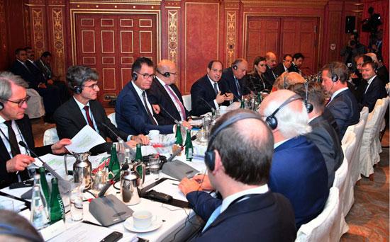 الرئيس السيسى بالشركات الألمانية (3)