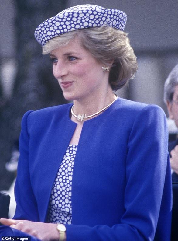 حلق الأميرة ديانا الذى ارتدته ميجان ماركل