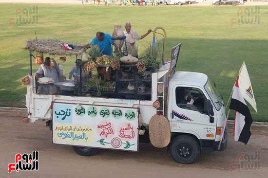 عروض-عسكرية-ومسيرة-بالسيارات-المصلحية-في-احتفالية-محافظة-الوادى-الجديد-(8)