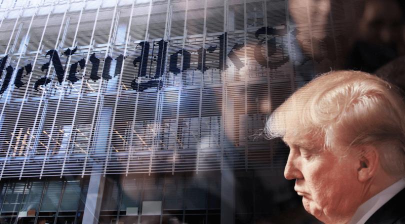ترامب VS نيويورك تايمز