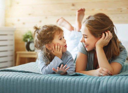 تعليم الطفل الكلام