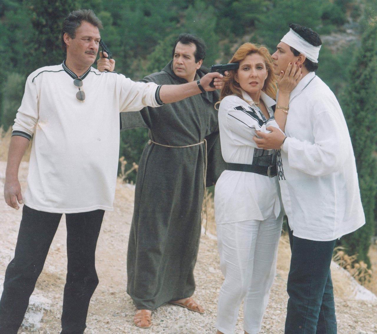 نجمة الجماهير في  احد افلامها