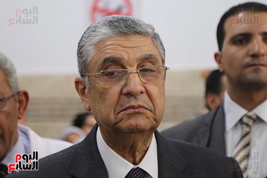 افتتاح وزير الكهرباء والانتاج الحربى مصنع عدادات الكهرباء (60)