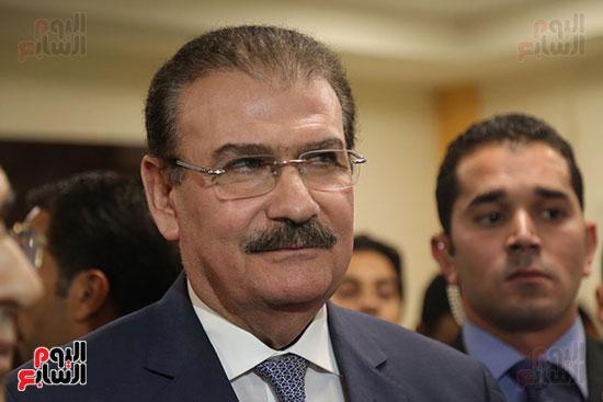 افتتاح وزير الكهرباء والانتاج الحربى مصنع عدادات الكهرباء (54)