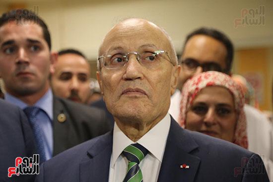 افتتاح وزير الكهرباء والانتاج الحربى مصنع عدادات الكهرباء (53)