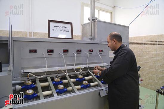 افتتاح وزير الكهرباء والانتاج الحربى مصنع عدادات الكهرباء (68)