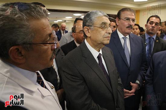 افتتاح وزير الكهرباء والانتاج الحربى مصنع عدادات الكهرباء (51)