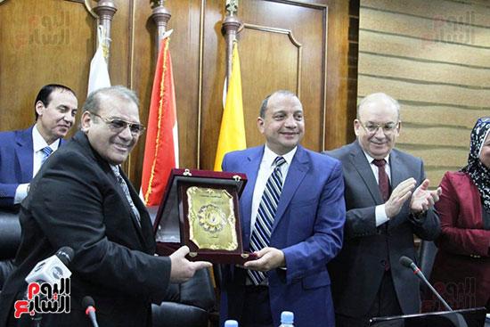 اتفاقية تعاون أكاديمى بين جامعتى بنى سويف وسيناء (17)