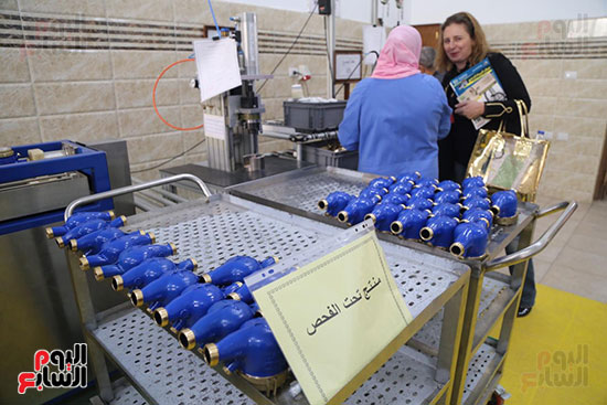 افتتاح وزير الكهرباء والانتاج الحربى مصنع عدادات الكهرباء (67)