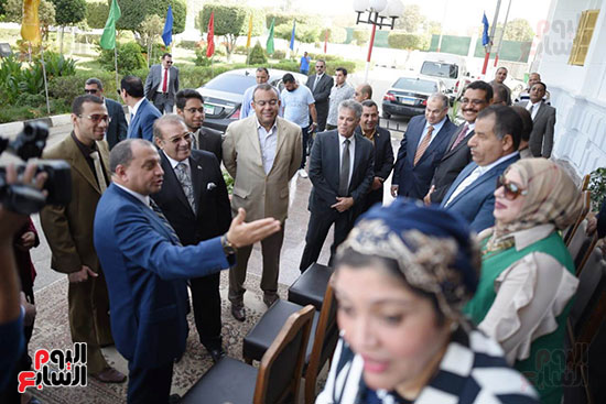 اتفاقية تعاون أكاديمى بين جامعتى بنى سويف وسيناء (5)