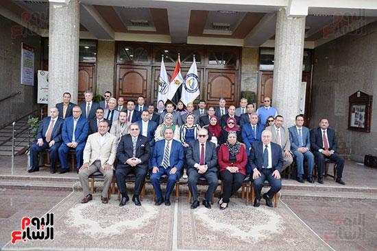 اتفاقية تعاون أكاديمى بين جامعتى بنى سويف وسيناء (22)