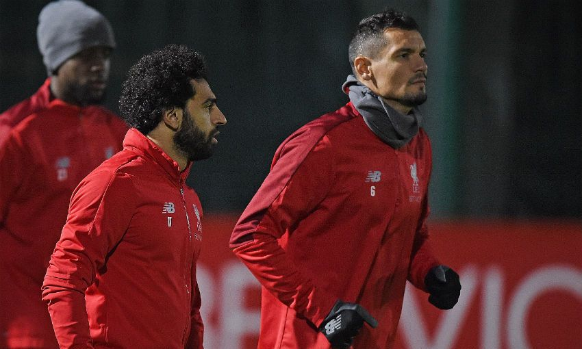 محمد صلاح فى تدريبات ليفربول (3)