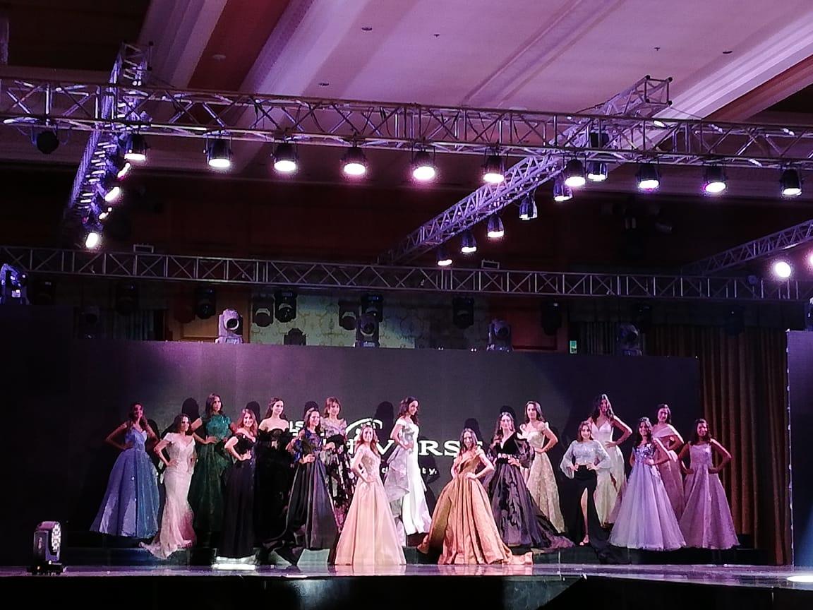 المتسابقات على التتويج بلقب ملكة جمال مصر