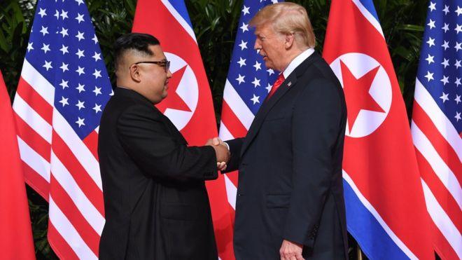 لقاء ترامب وكيم