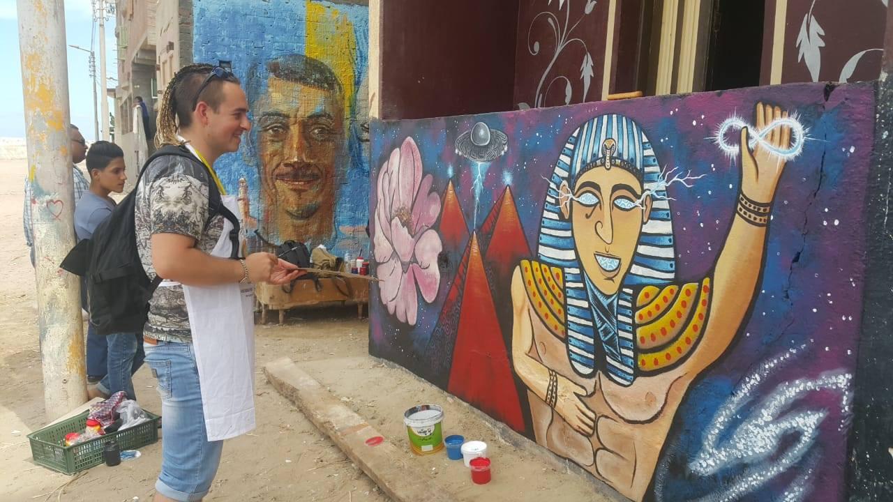7- التعبير عن الحضارة الفرعونية
