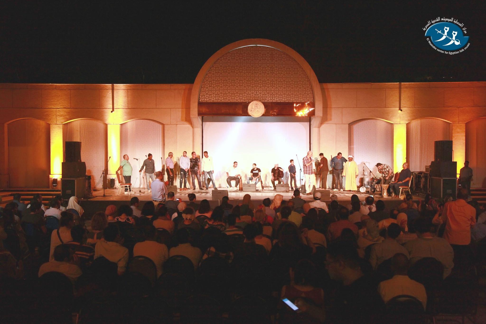 جانب من حفل احتفال الطنبورة بـ30 عاماً