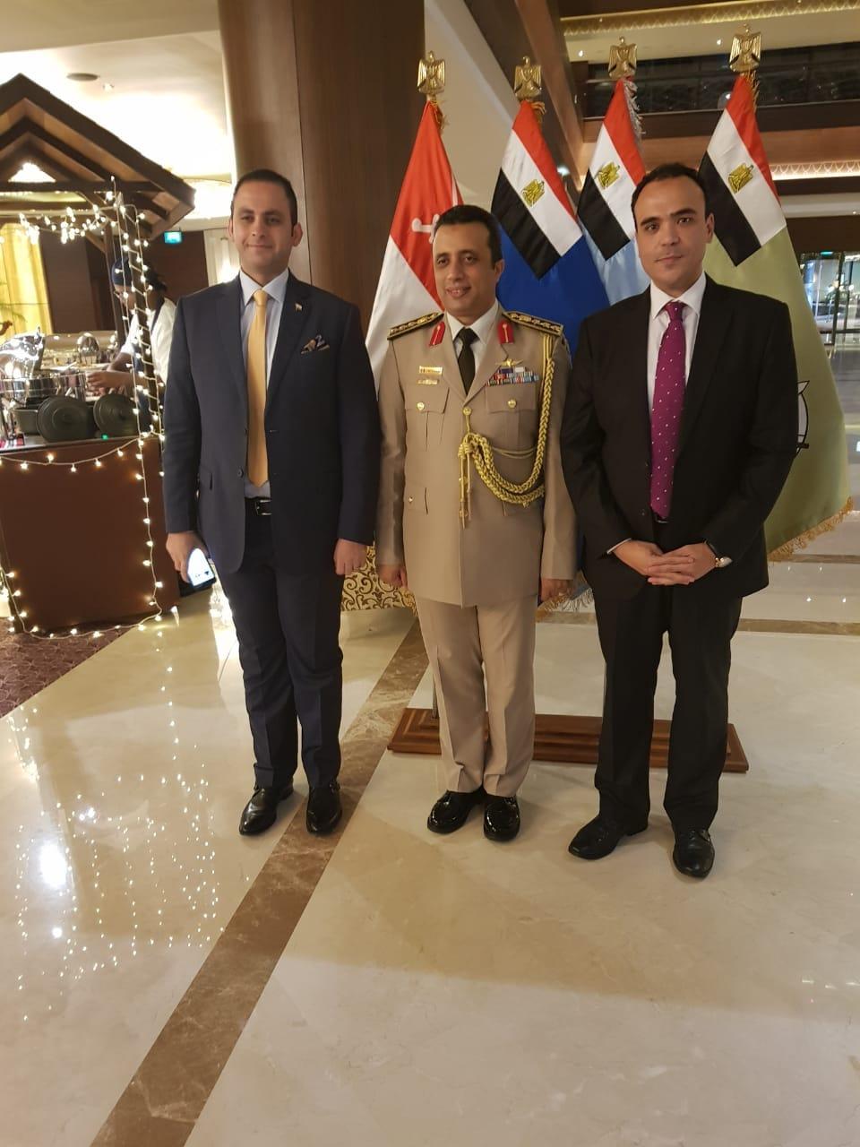 f8481c086 أخر كلام | مكتب الدفاع المصري بأبو ظبي يحتفي بذكري انتصارات أكتوبر