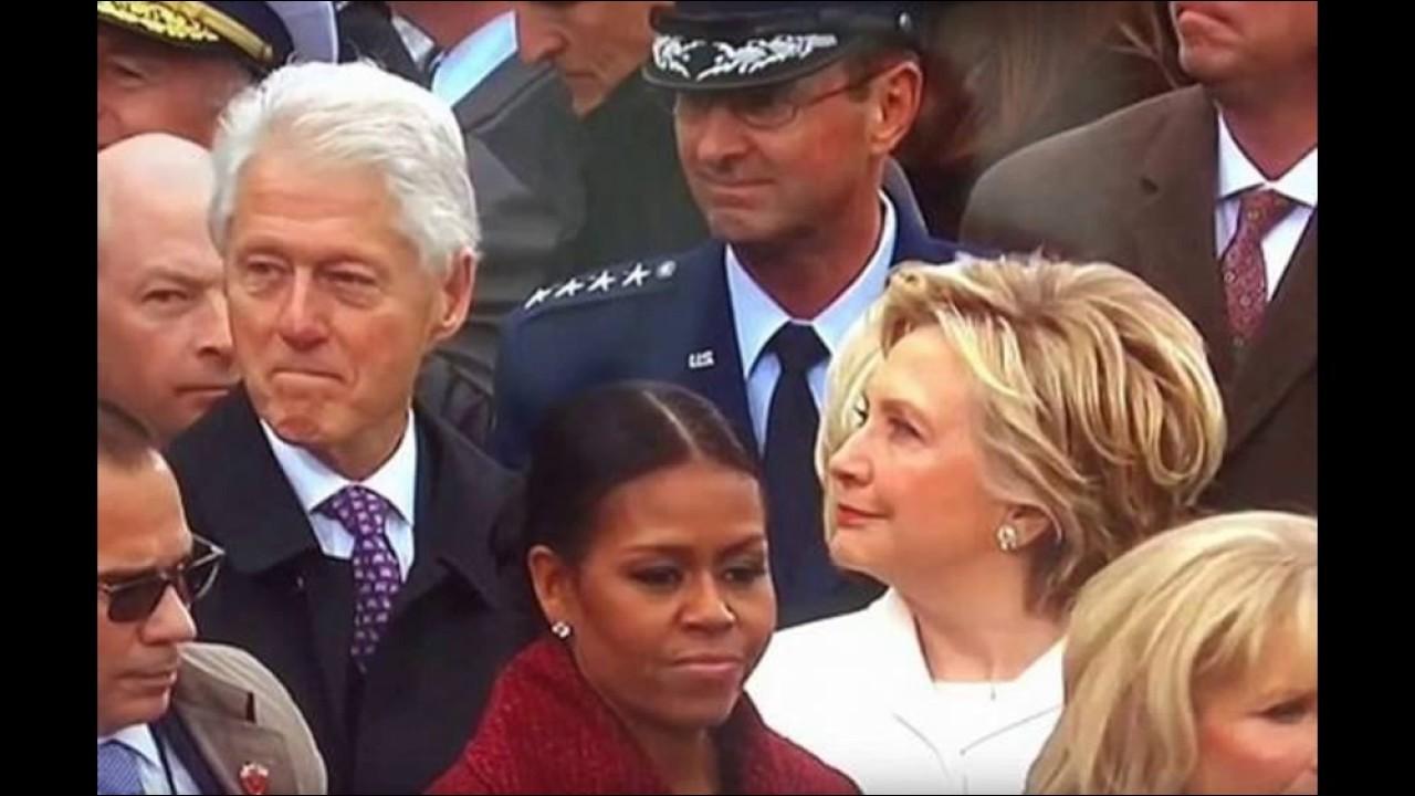 غيرة هيلارى على بيل كلينتون بسبب نظرته لإيفانكا ترامب