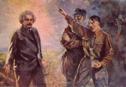 هتلر وأينشتاين