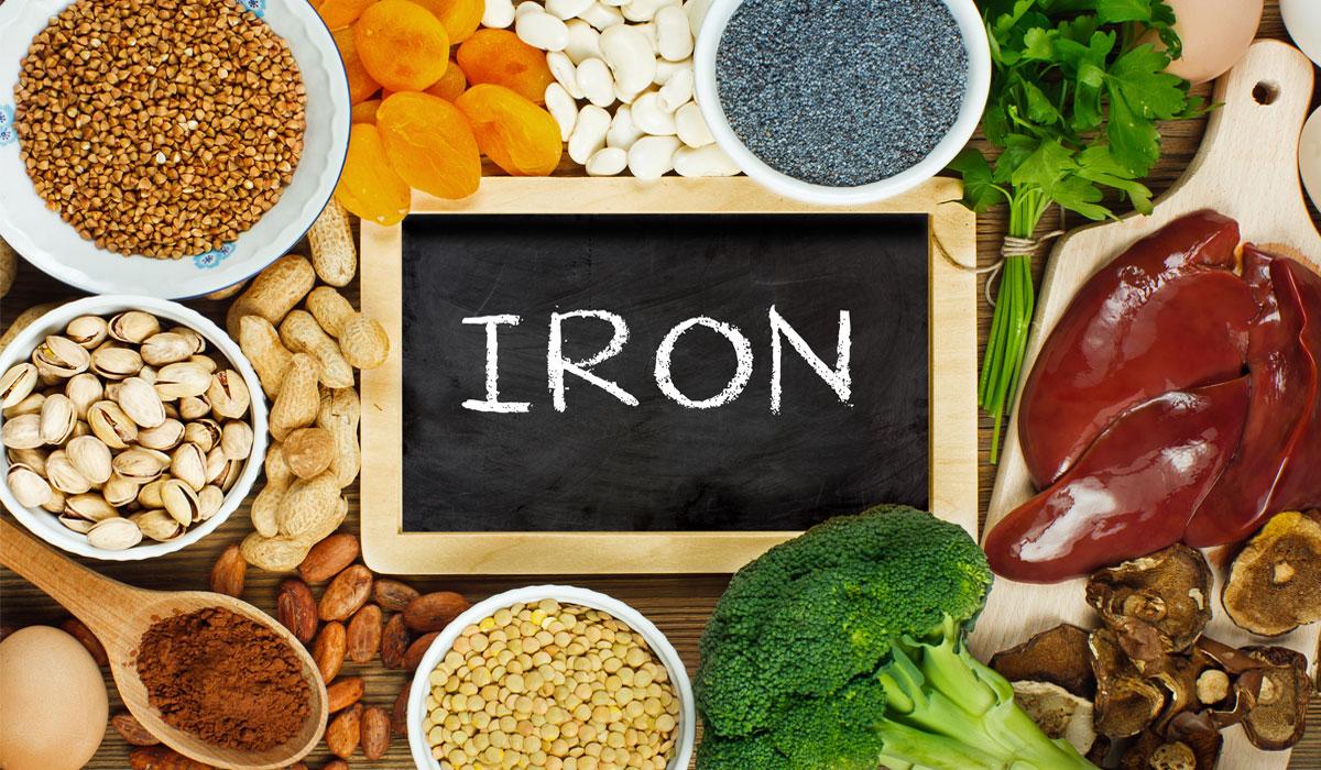 اضرار زيادة الحديد