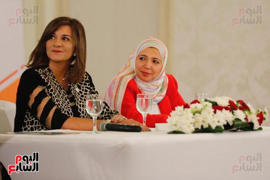 نبيلة مكرم وزيرة الهجرة (19)