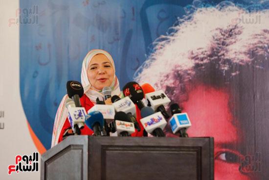 نبيلة مكرم وزيرة الهجرة (23)