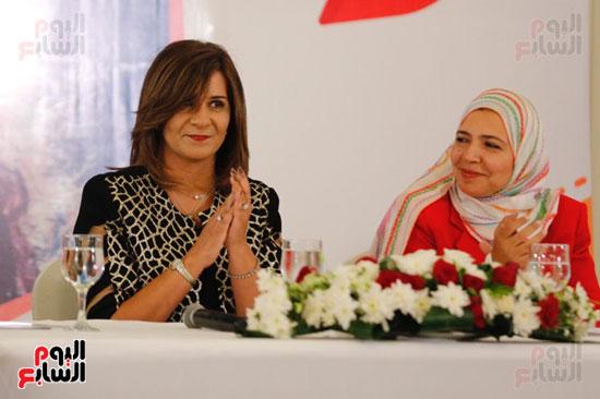 نبيلة مكرم وزيرة الهجرة (22)