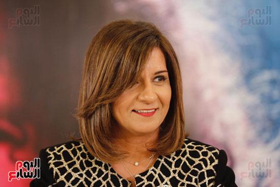 نبيلة مكرم وزيرة الهجرة (1)