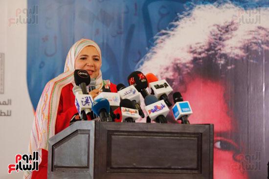 نبيلة مكرم وزيرة الهجرة (24)