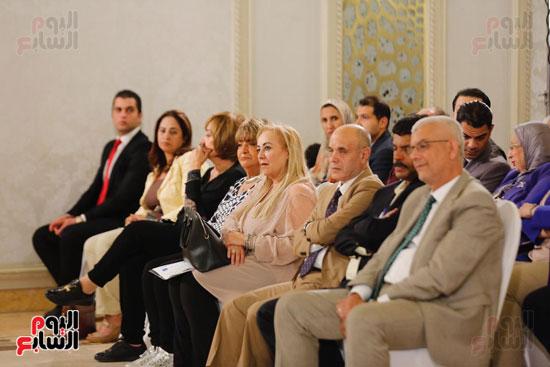 نبيلة مكرم وزيرة الهجرة (17)