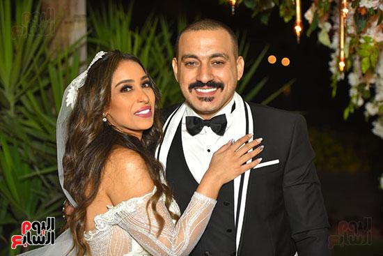صور حفل زفاف دياب وهاجر الإبيارى (1)