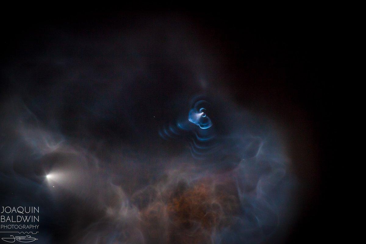 صاروخ سبيس أكس بعدسة مصور ديزني بالدوين 4