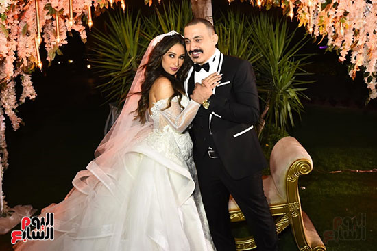 صور حفل زفاف دياب وهاجر الإبيارى (2)