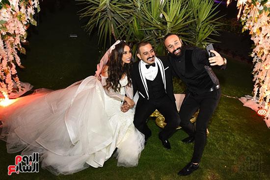 صور حفل زفاف دياب وهاجر الإبيارى (3)