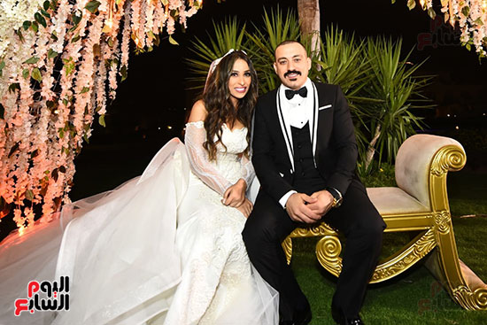 صور حفل زفاف دياب وهاجر الإبيارى (4)