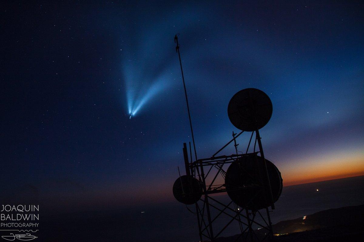 صاروخ سبيس أكس بعدسة مصور ديزني بالدوين