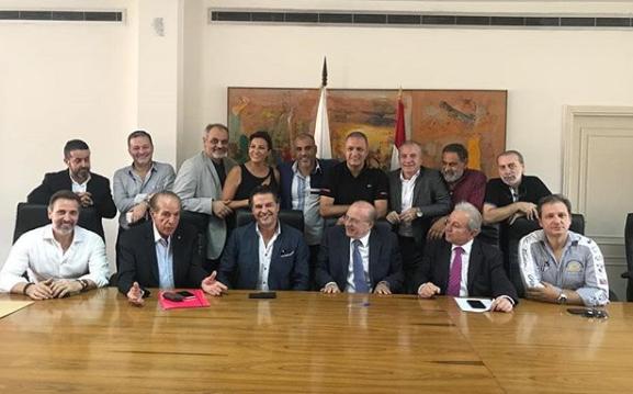 اجتماع فى وزارة الثقافة اللبنانية